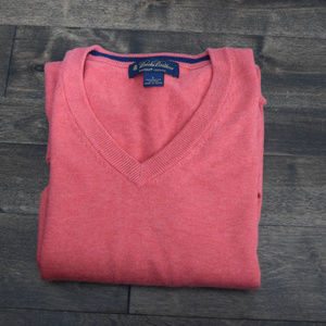 Brooks Brothers V-Neck Sweater - Large